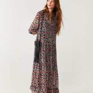 Bohemian chic dress paris