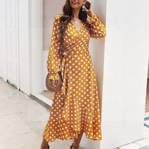 Bohemian chic hippie dress