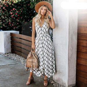 Bohemian chic long dress