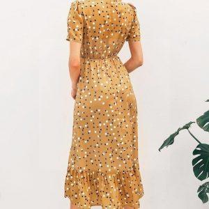 Bohemian spirit hippie chic maxi dress